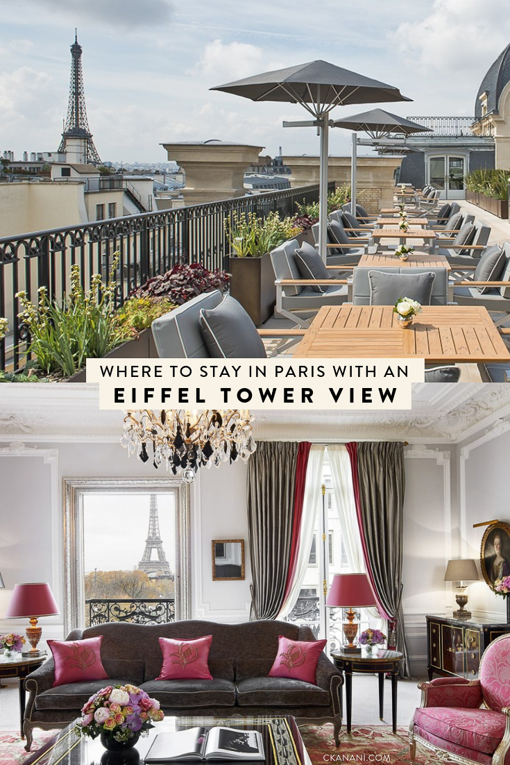 Best Hotels In Paris France With View Of Eiffel Tower