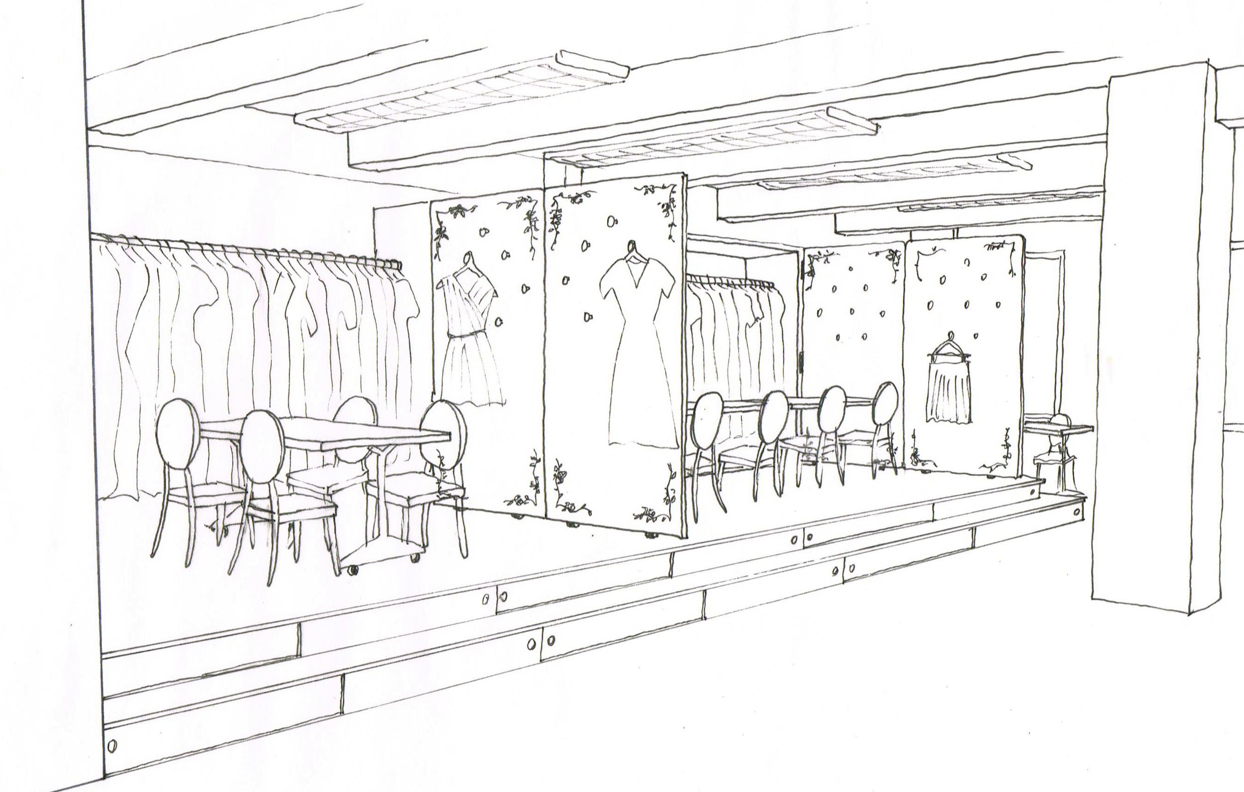 Fashion Showroom & Offices — Revamp Interior Design