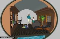 Underground Living Room  ZooBoing Illustrations
