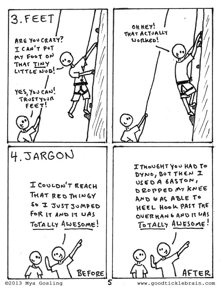 Rock Climbing — Good Tickle Brain