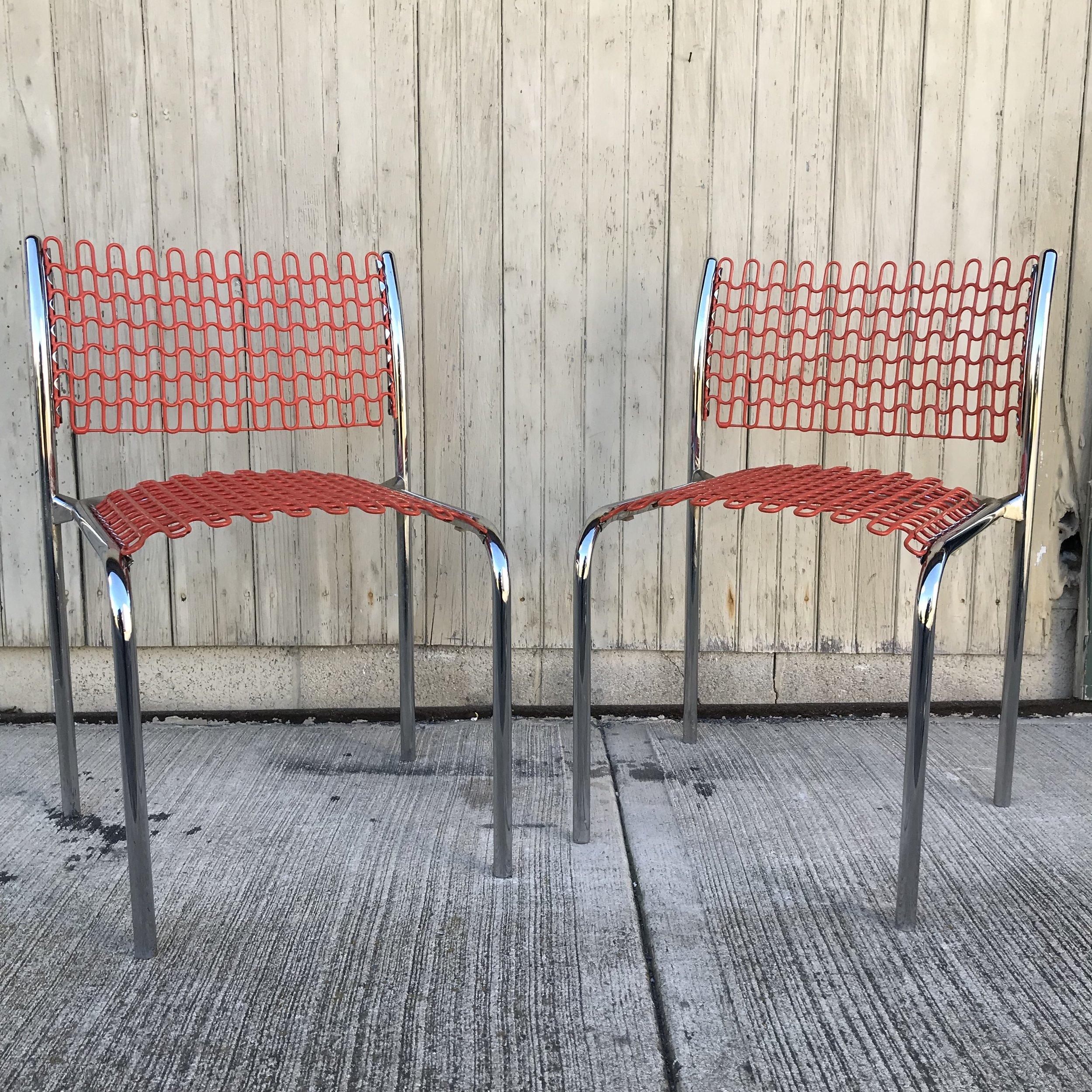 david rowland metal chair armchair tray table pair sof tech chairs repop img 0414 jpg
