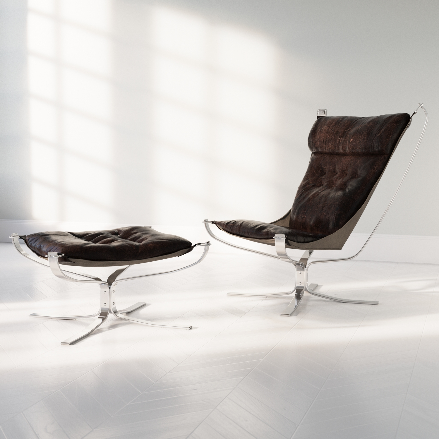 Falcon Chair Sigurd Ressell Falcon Chair Peter Guthrie