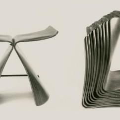 Prouve Standard Chair Computer White Reinventing The Sori Yanagi Butterfly Stool. — Design.daily