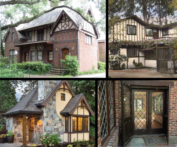 Tudor Revival Style Architectural Antiques