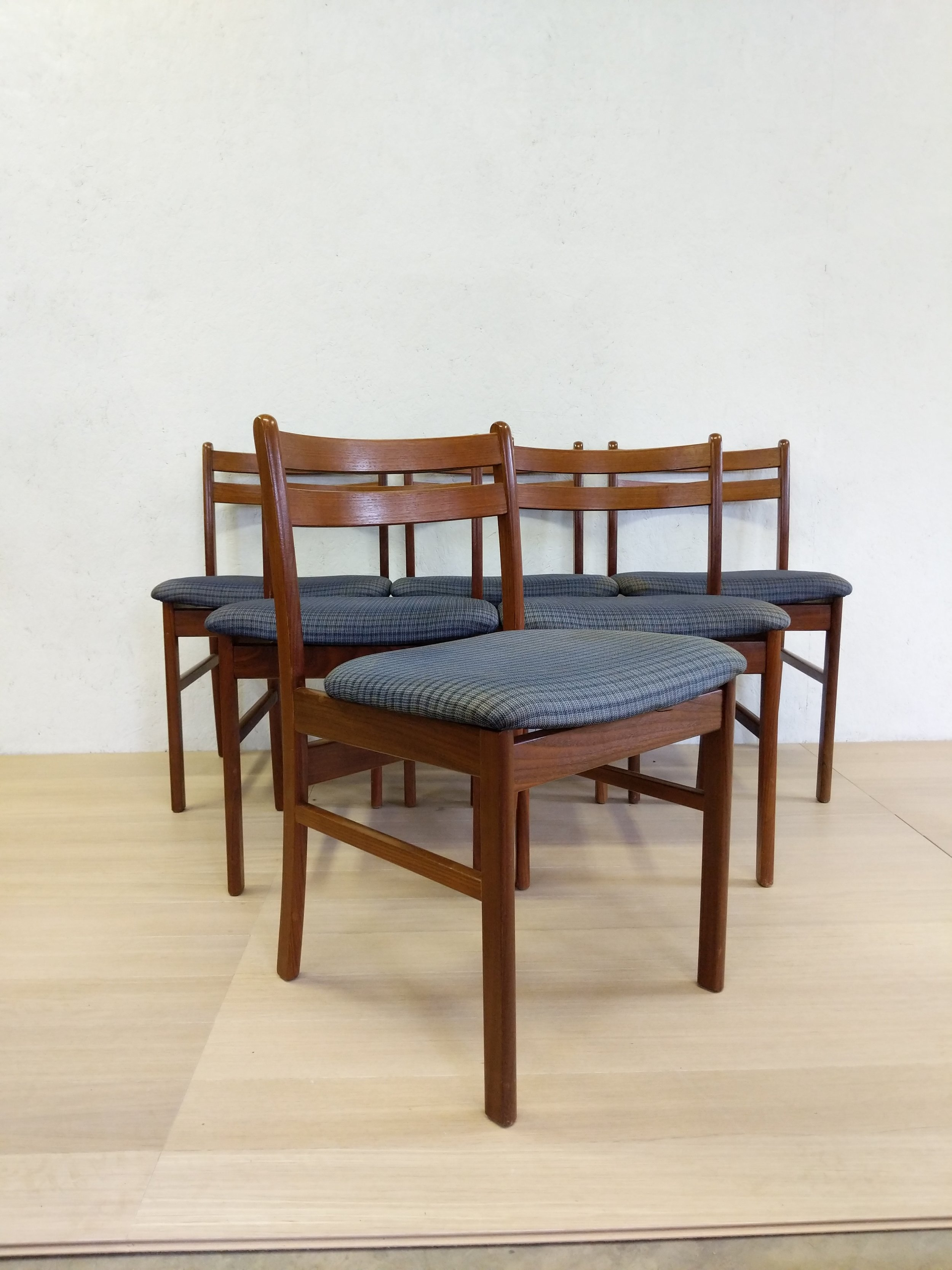 danish modern dining chairs jet 3 ultra power chair set of 6 vintage far out finds