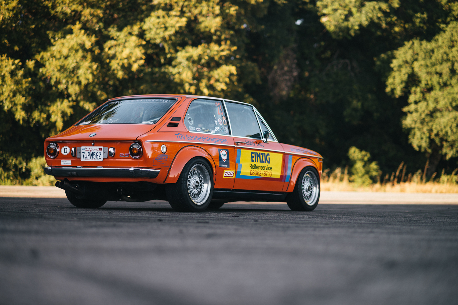 medium resolution of german built american driven hootie s 1973 bmw 2002 touring performance technic