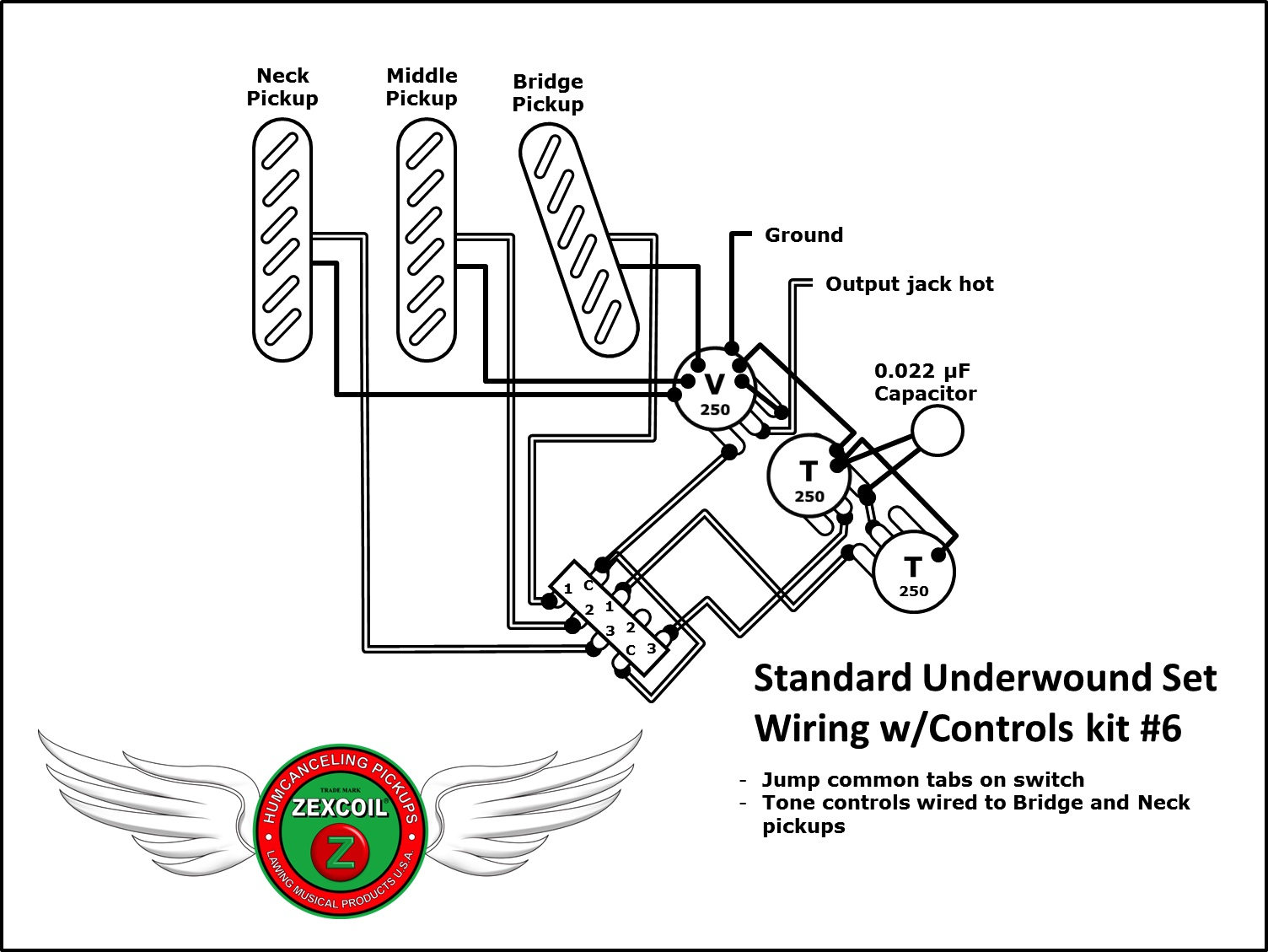 Lawing Musical Products — Wiring Diagrams