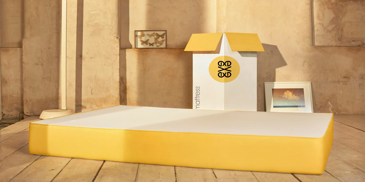 The eve mattress  The Dieline  Packaging  Branding