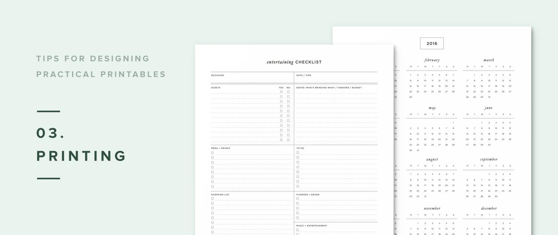 5 tips for designing practical printables (+ free design