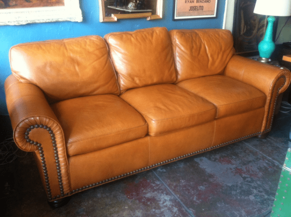1 Butterscotch Leather Sofa  4 Different Ways  Casa