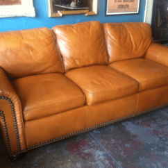 Stickley Furniture Leather Sofas Long Sectional Sofa Canada 1 Butterscotch // 4 Different Ways — Casa ...