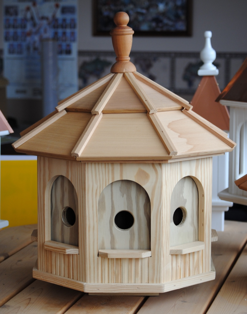 Large Wooden Octagon Bird House Birdhouses And Birdfeeders Mayse Mfg. . Outdoor Products