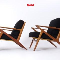 Folding Z Chair Poang Rocking Review A Pair Of Poul Jensen Chairs Karlsson Wickman