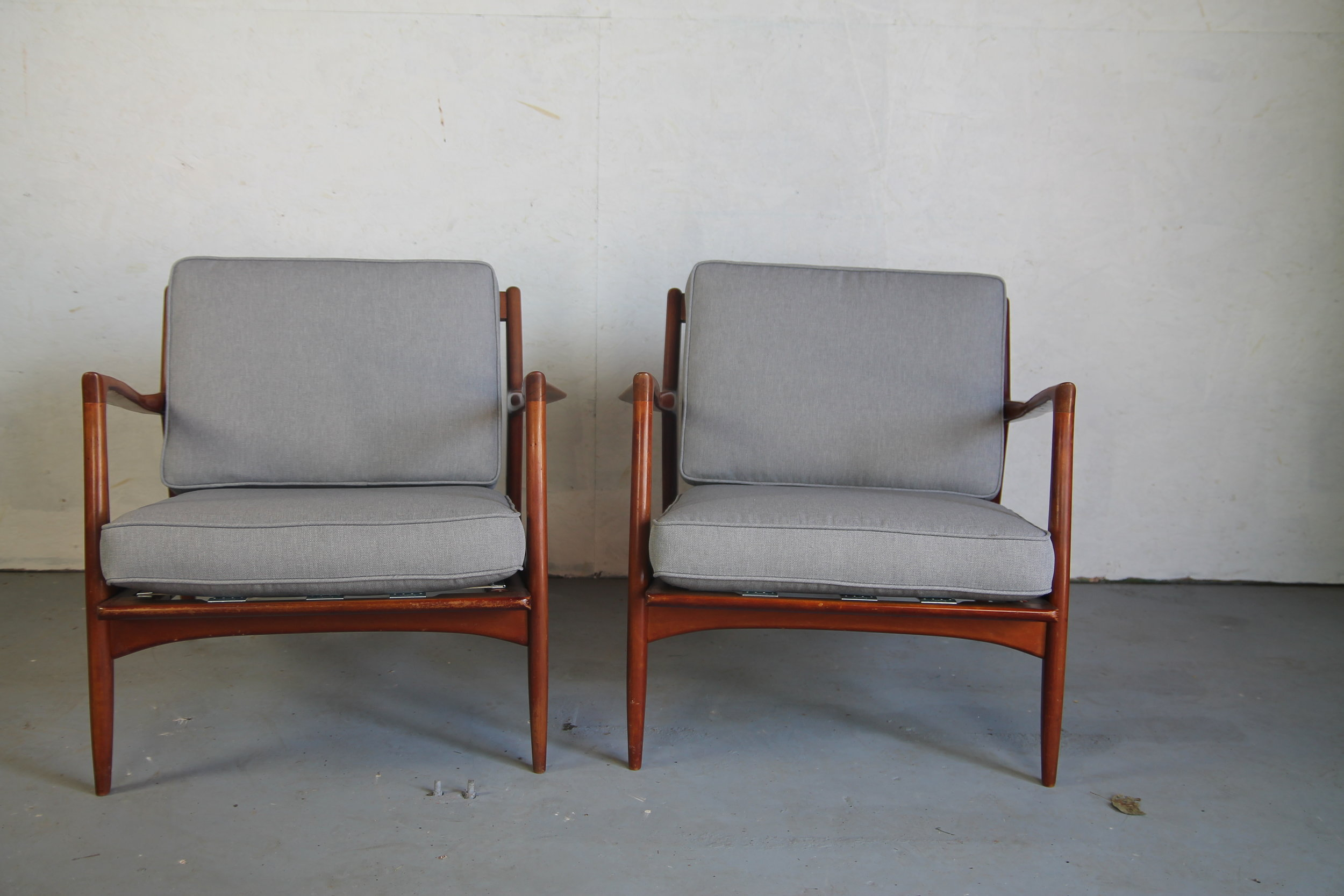Selig Chair Ib Kofod Larsen Lounge Chairs For Selig