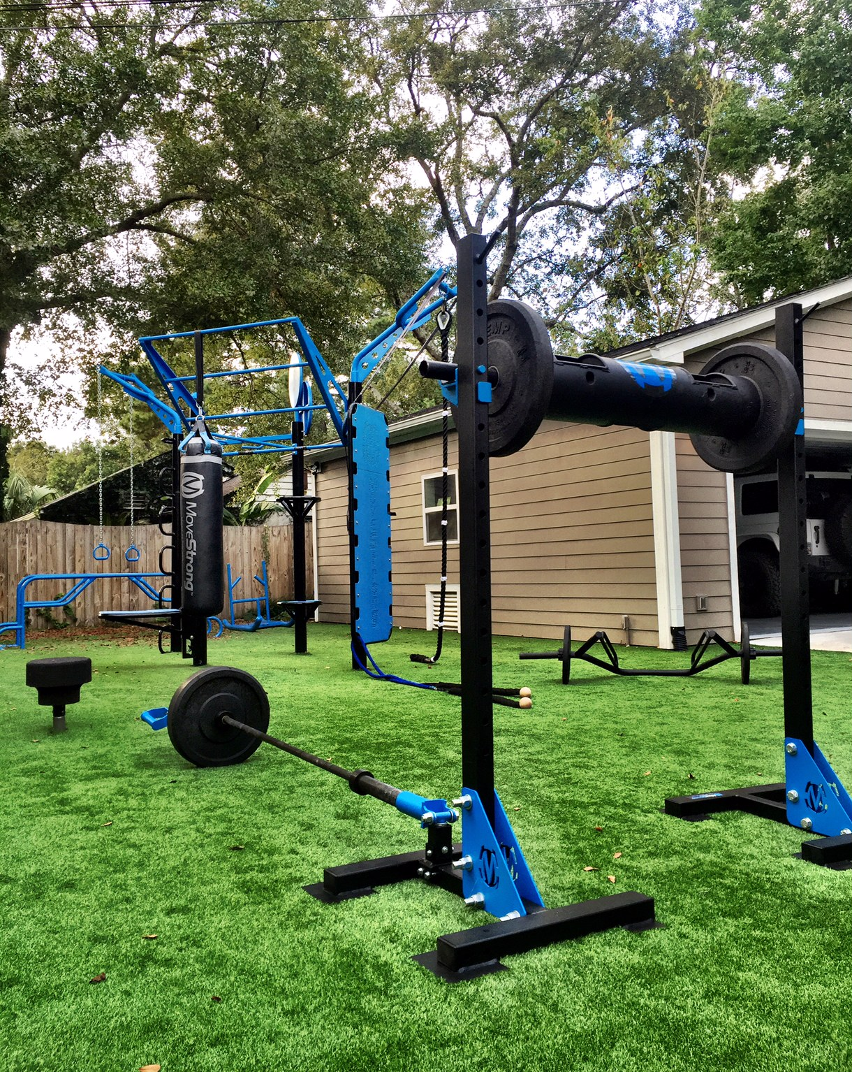 The Ultimate Backyard Gym By Movestrong Movestrong