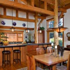 Kitchen Remodel Hawaii Moen Arbor Faucet Timber Frame And Log Home — Greg Robinson Architect