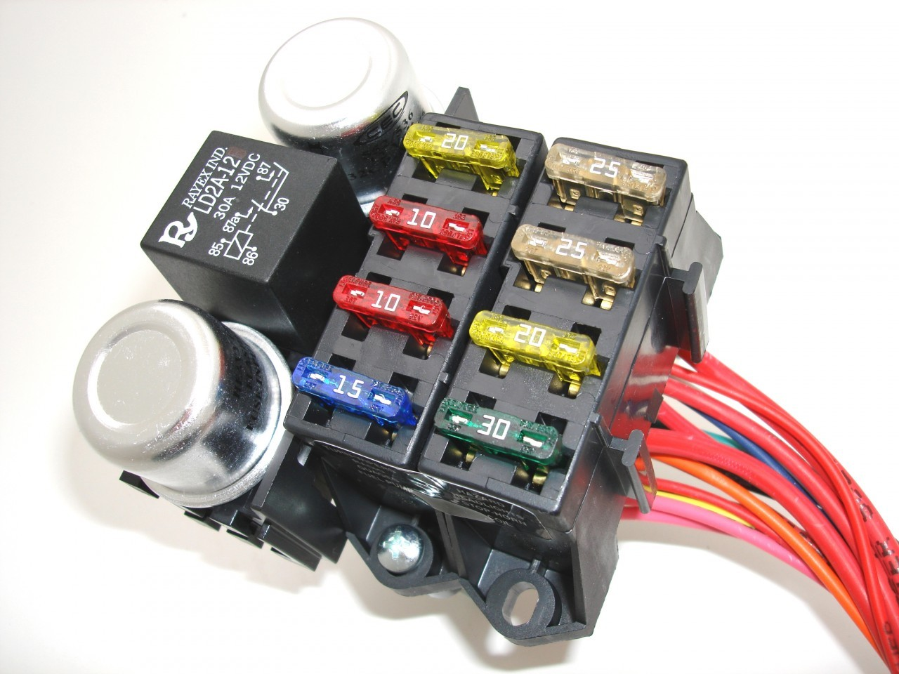 small resolution of 8 circuit budget wire harness