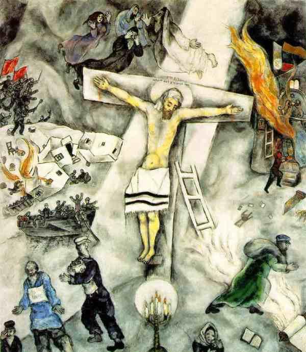 Chagall' White Crucifixion Reverb Culture