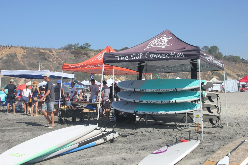 The SUP Connection was a proud sponsor on September 7th, 2014 in theSurf Dog Surf-A-Thon Del Mar Beach Rentals