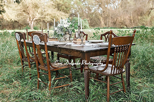renting tables and chairs for wedding conference table with wheels american vintage rentals furniture decor farm cori delgado 800x533 jpg