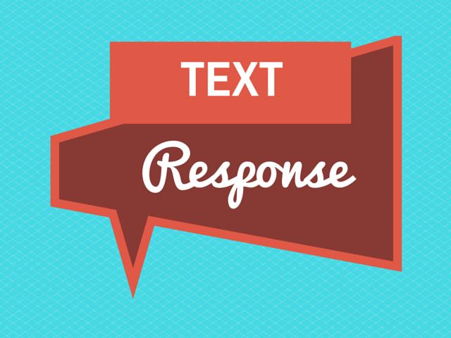 How to write a terrific text response  Literacy Ideas