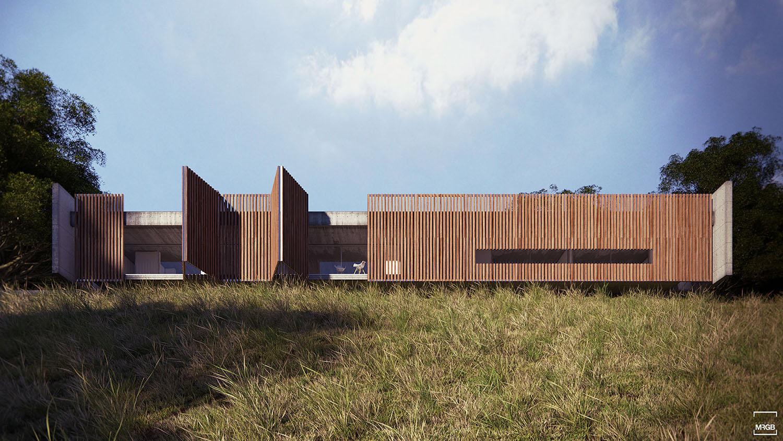 Residência | AL Premiação: ★ Menção Honrosa 10º Prêmio Jovens Arquitetos Residencial Localização: Brasília-DF Área: 380 m² Ano: 2011