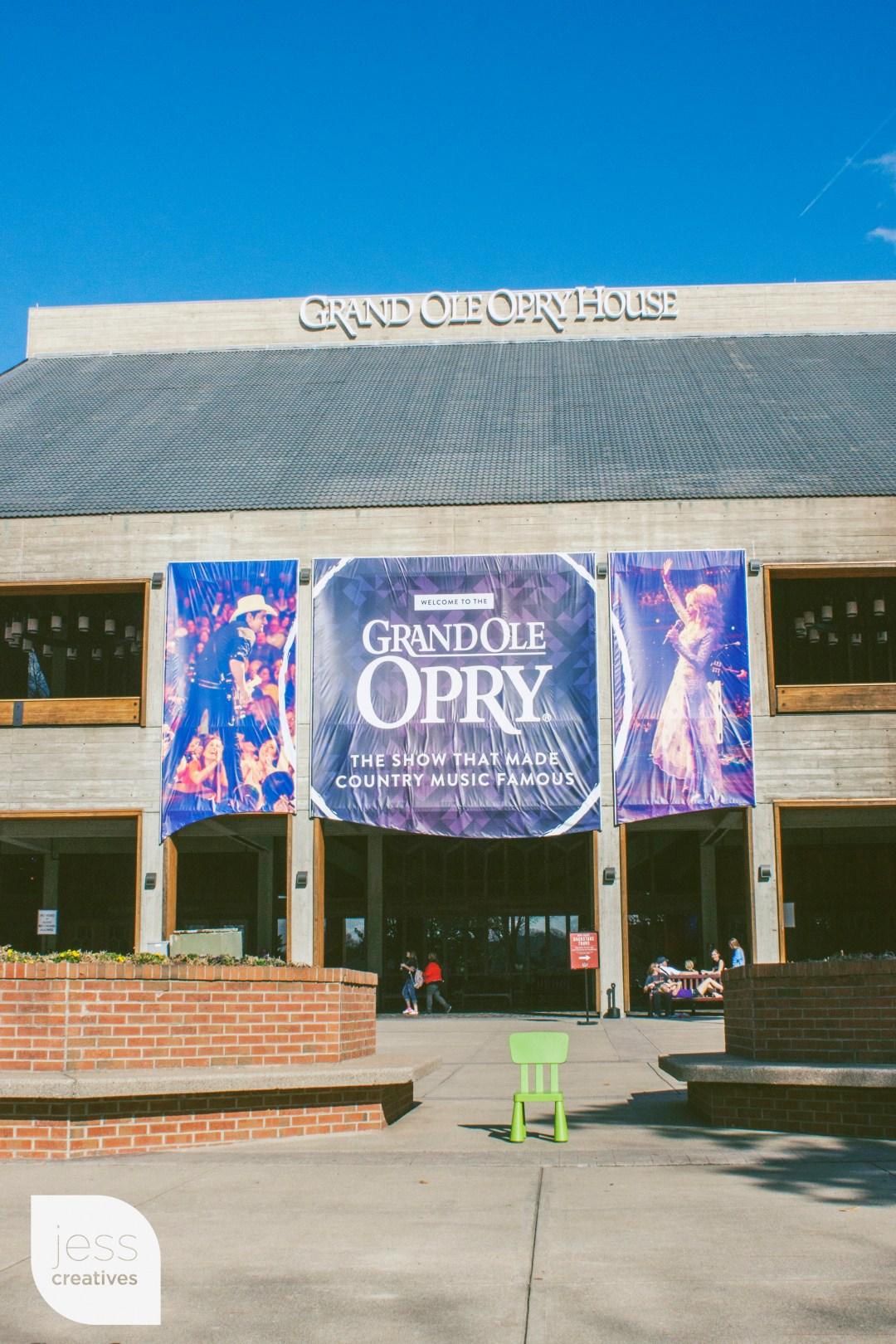 Opry stage, here I come! La la la laaaaaaaa!