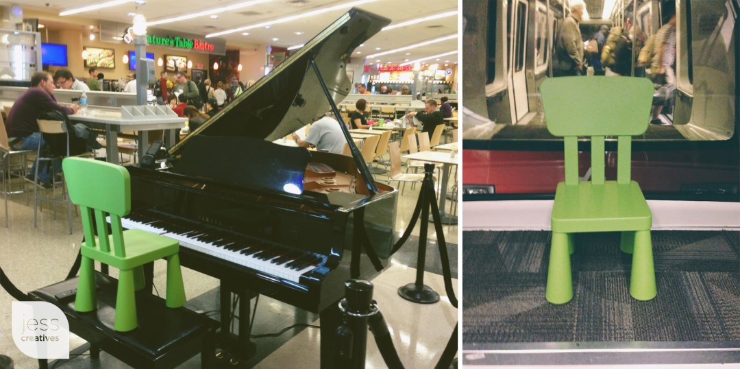 Pianos and PLANE TRAINS!