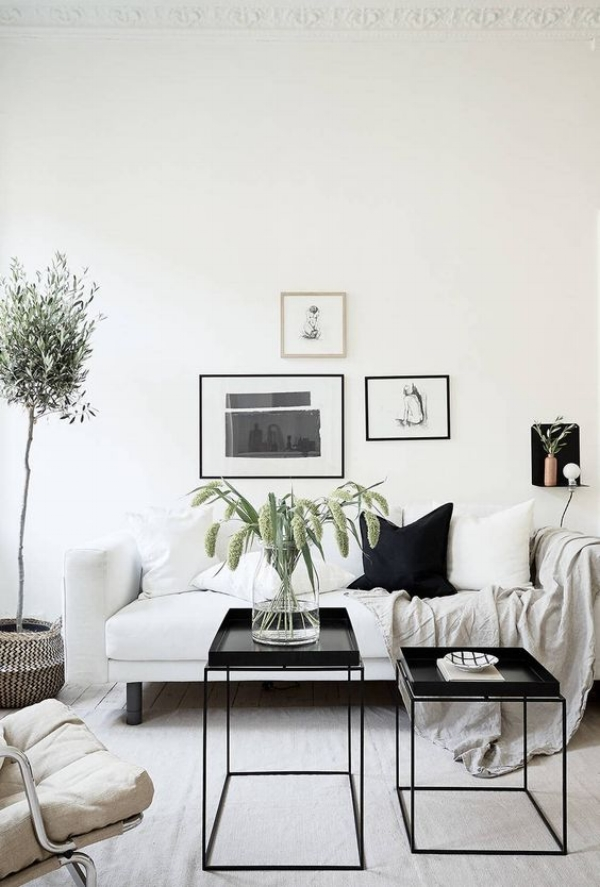 beige color palette living room leather set current crush black white and the decorista