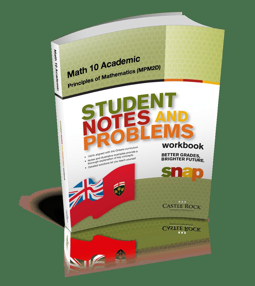 medium resolution of SNAP - Ontario Mathematics 10