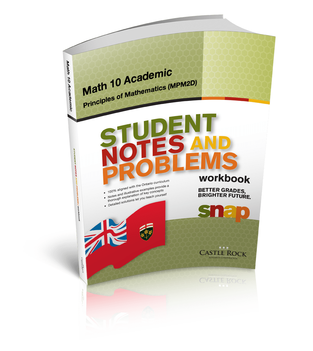 hight resolution of SNAP - Ontario Mathematics 10