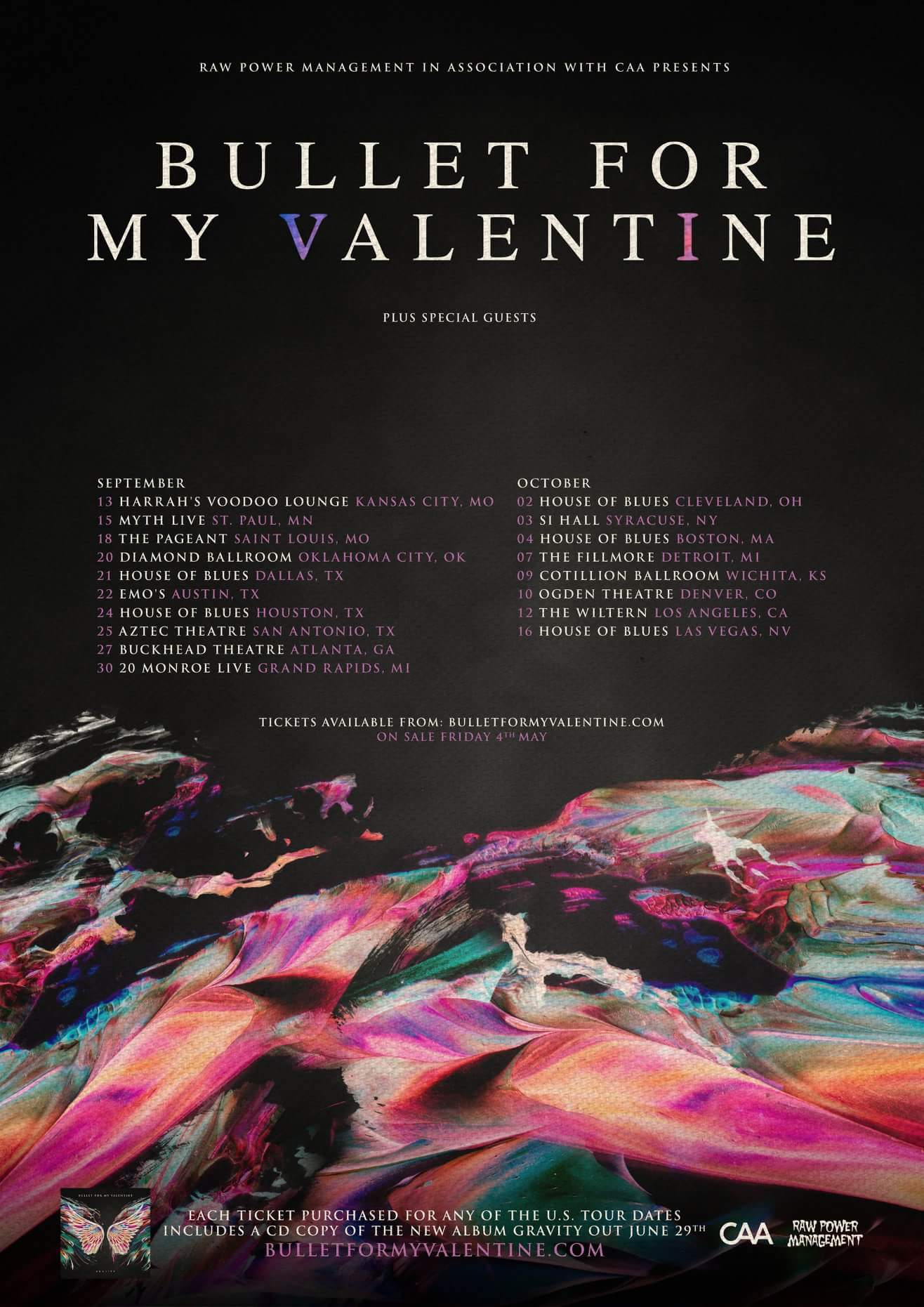 Bullet For My Valentine Announce Fall US Tour Kill The
