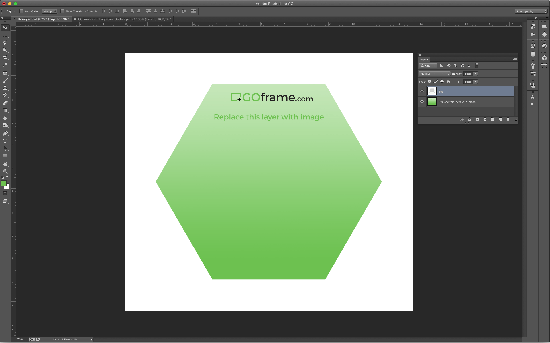 How To Make A Perfect Hexagon In Photoshop