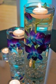 Floating Candle Centerpieces  The Perfect DetailsThe Perfect DEtails