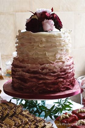 Wedding Wednesday Pantones 2015 Color of the Year  Marsala Wedding Details  The Perfect