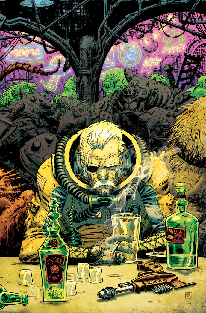 Fear Agent  COLONEL TONY MOORE
