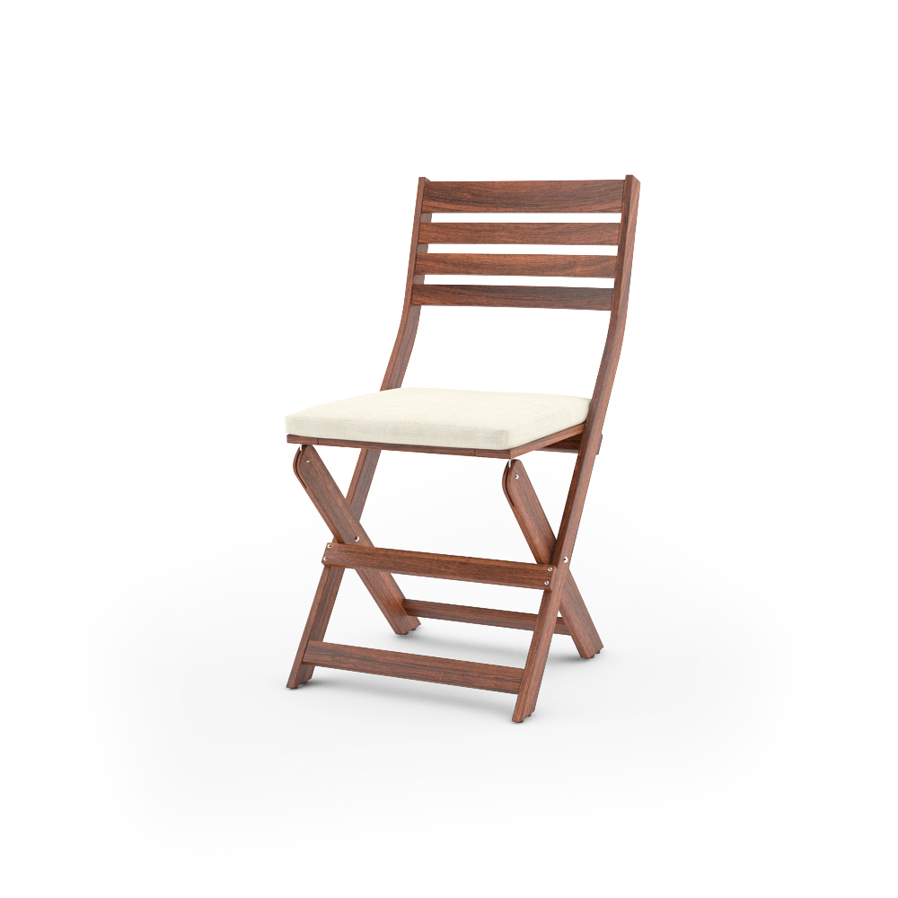 folding chair ikea eames style rocking free 3d models applaro outdoor furniture series special bonus unfolded with cushion