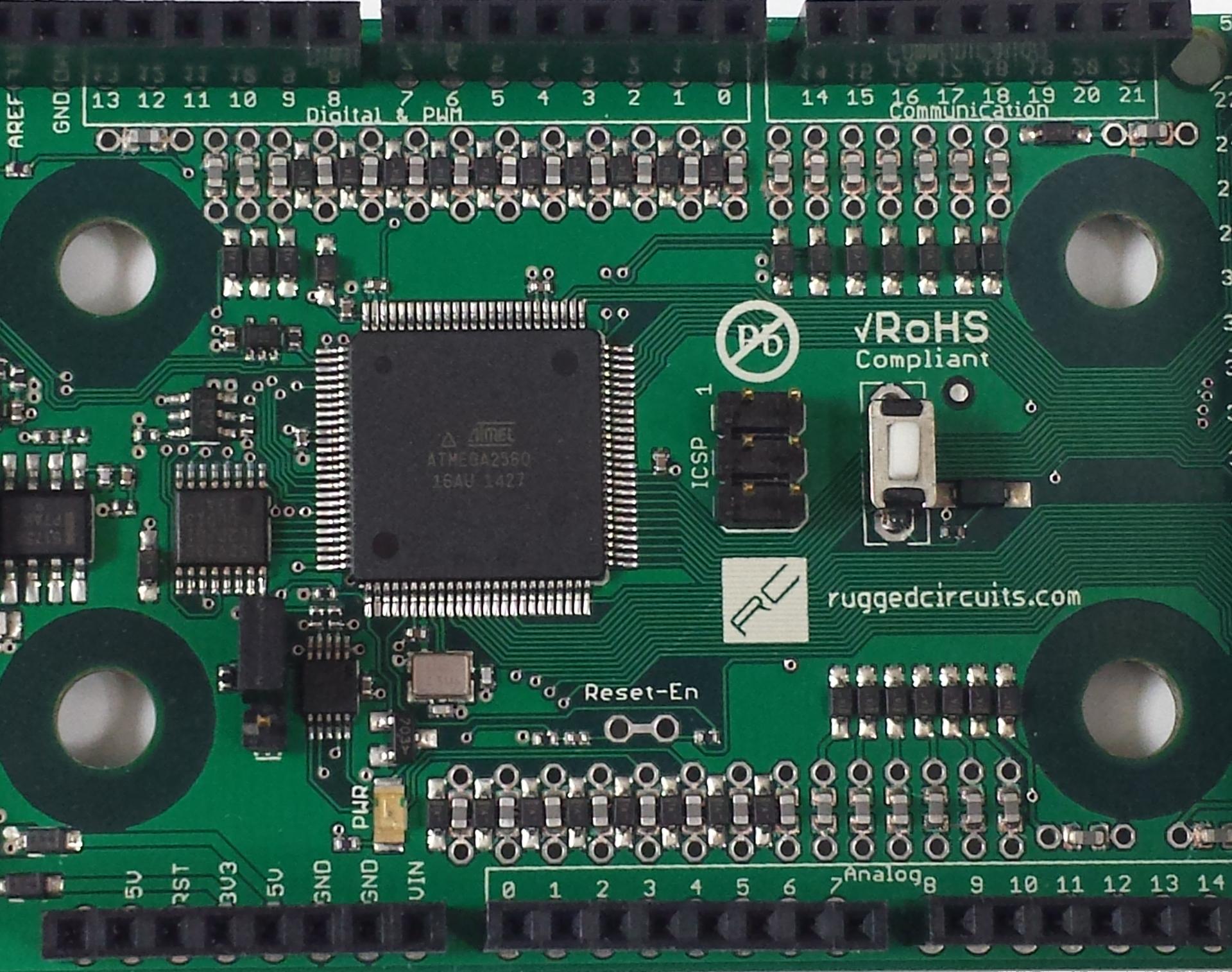 Rugged Circuits Ruggeduino Rugged Circuits