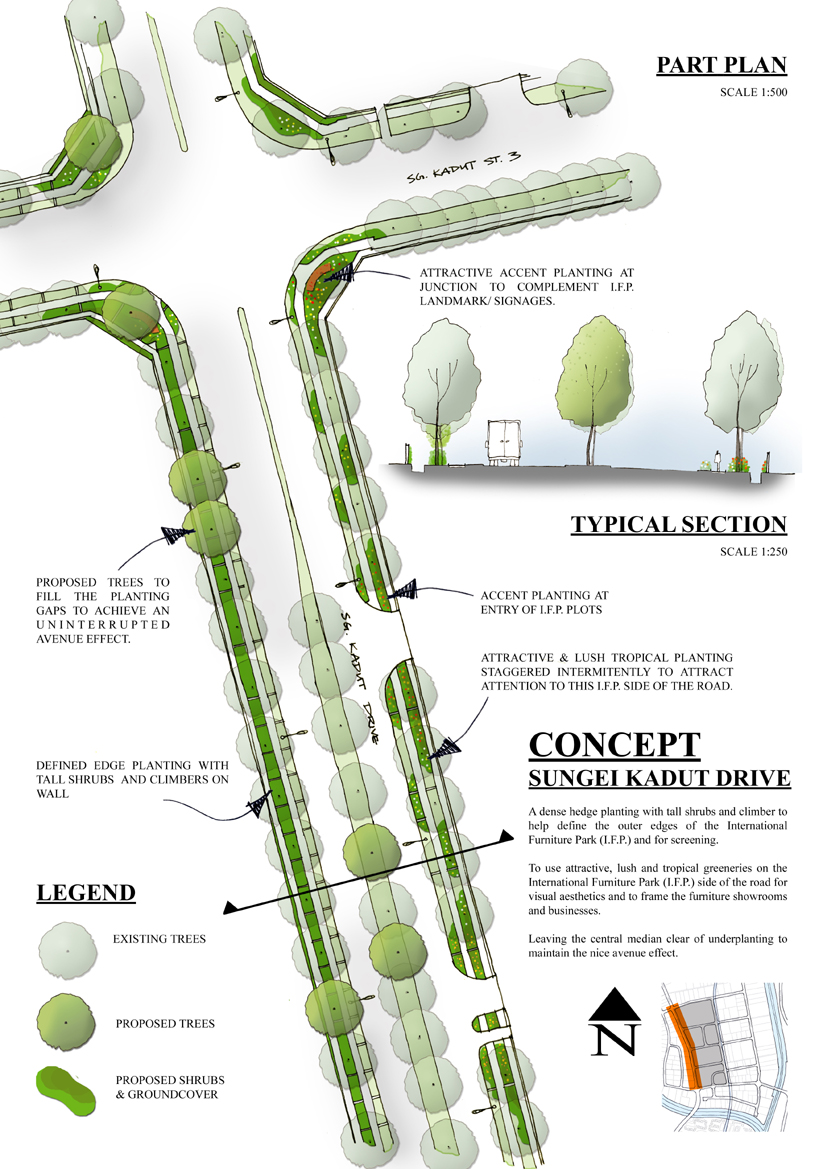 Urban Design  Stephen Caffyn Landscape Design