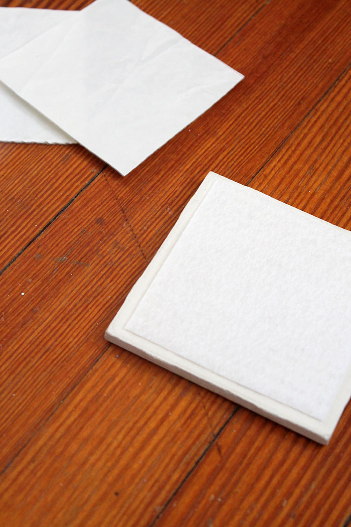 Tile Coasters Paper Tissue