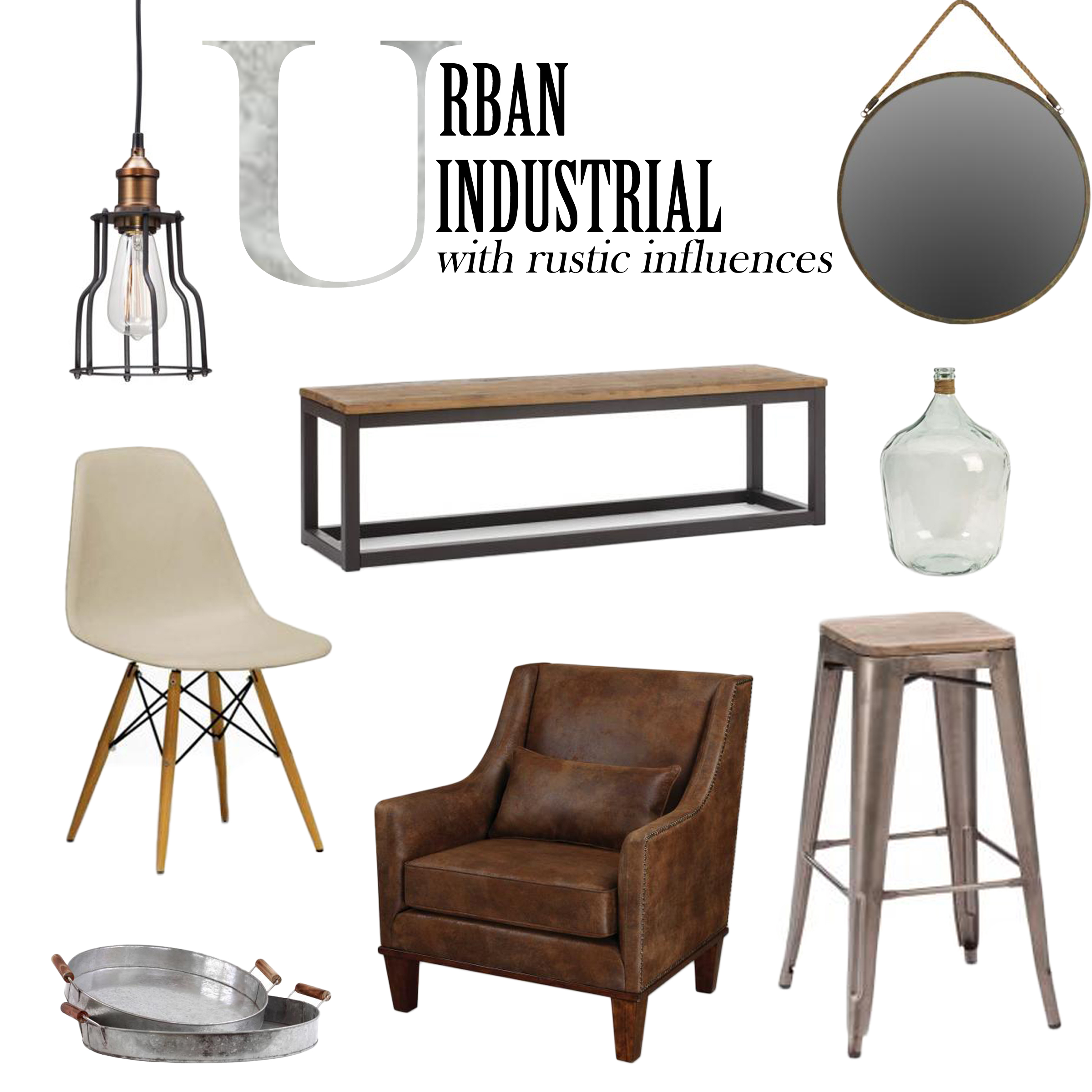 Modern Industrial Home Decor