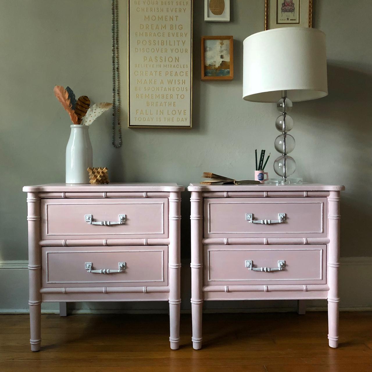 Paint Colors I Love Annie Sloans Blush Pink Antoinette