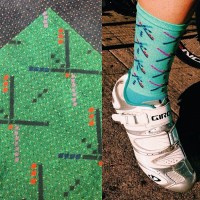 The Athletic - PDX Airport Carpet Socks  Leave It On The Road