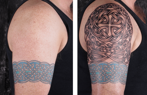 Background Tattoo Sleeve Filler