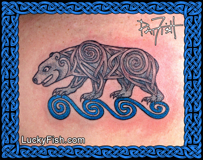 Tattoo Bear Celtic
