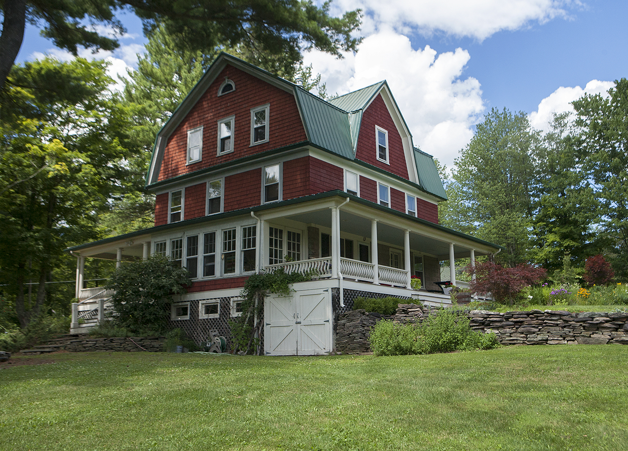 Dutch Colonial Farmhouse SOLD 6bd3ba on 12 acres Jeffersonville NY 450000  Country