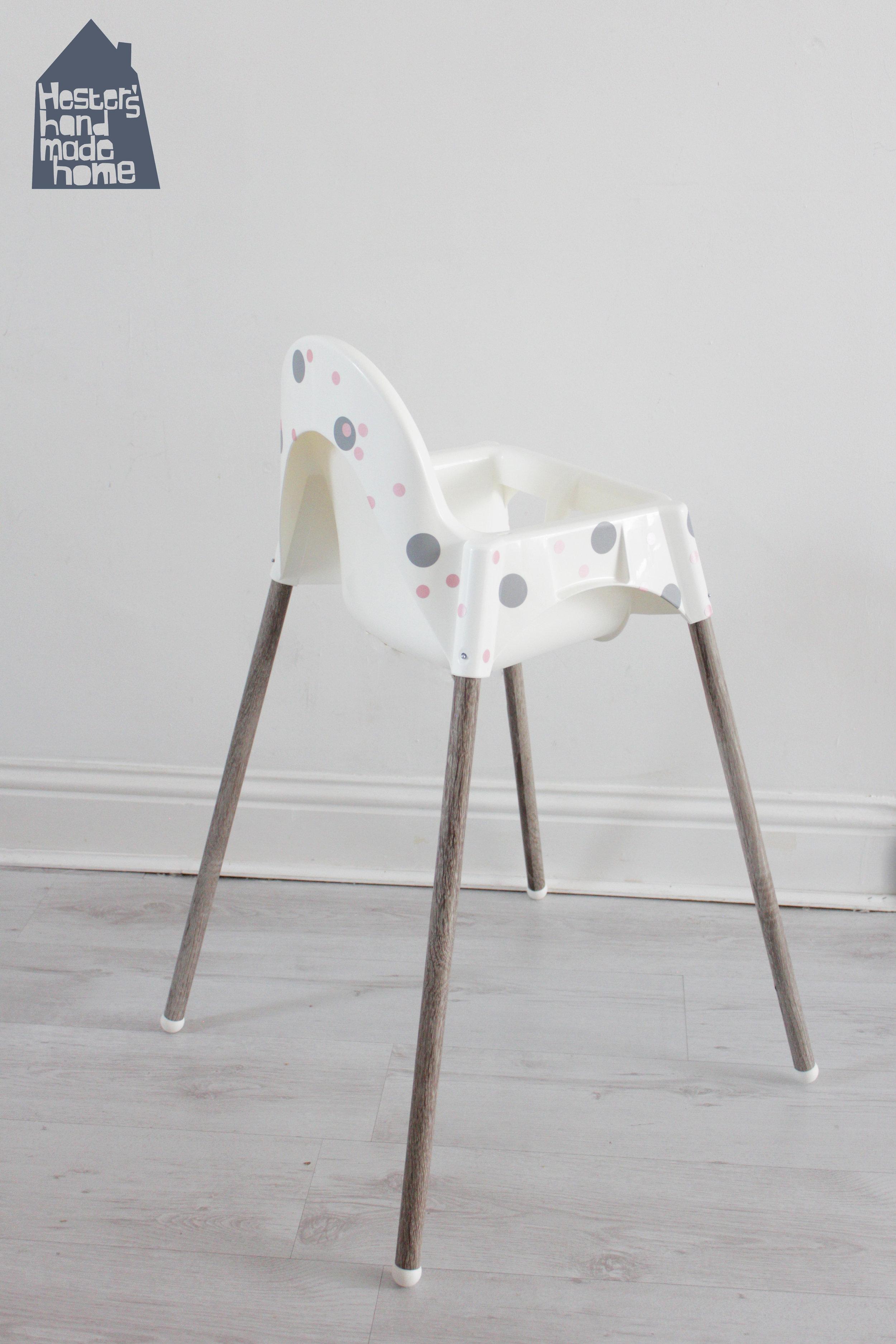 ikea high chair revolving mechanism antilop highchair hack hester s handmade home by www hestershandmadehome com