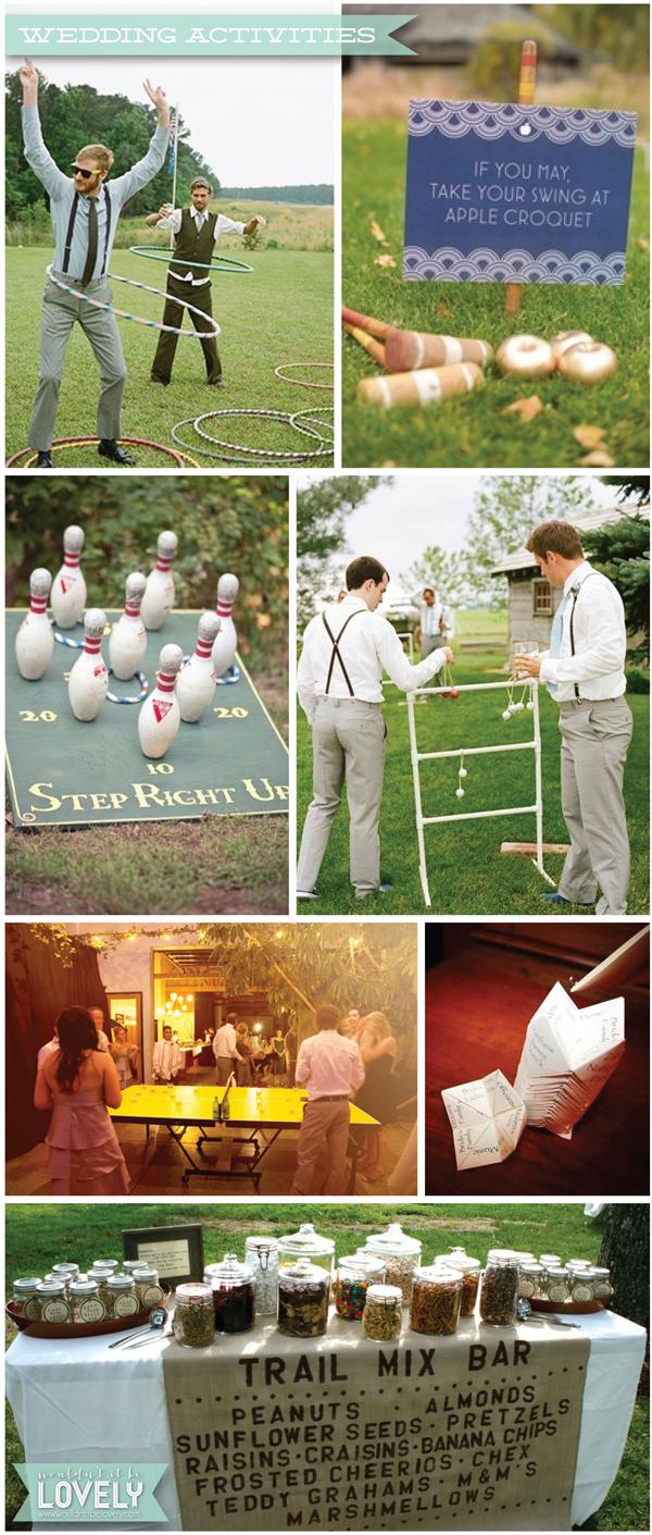 Fun Outdoor Wedding Ideas