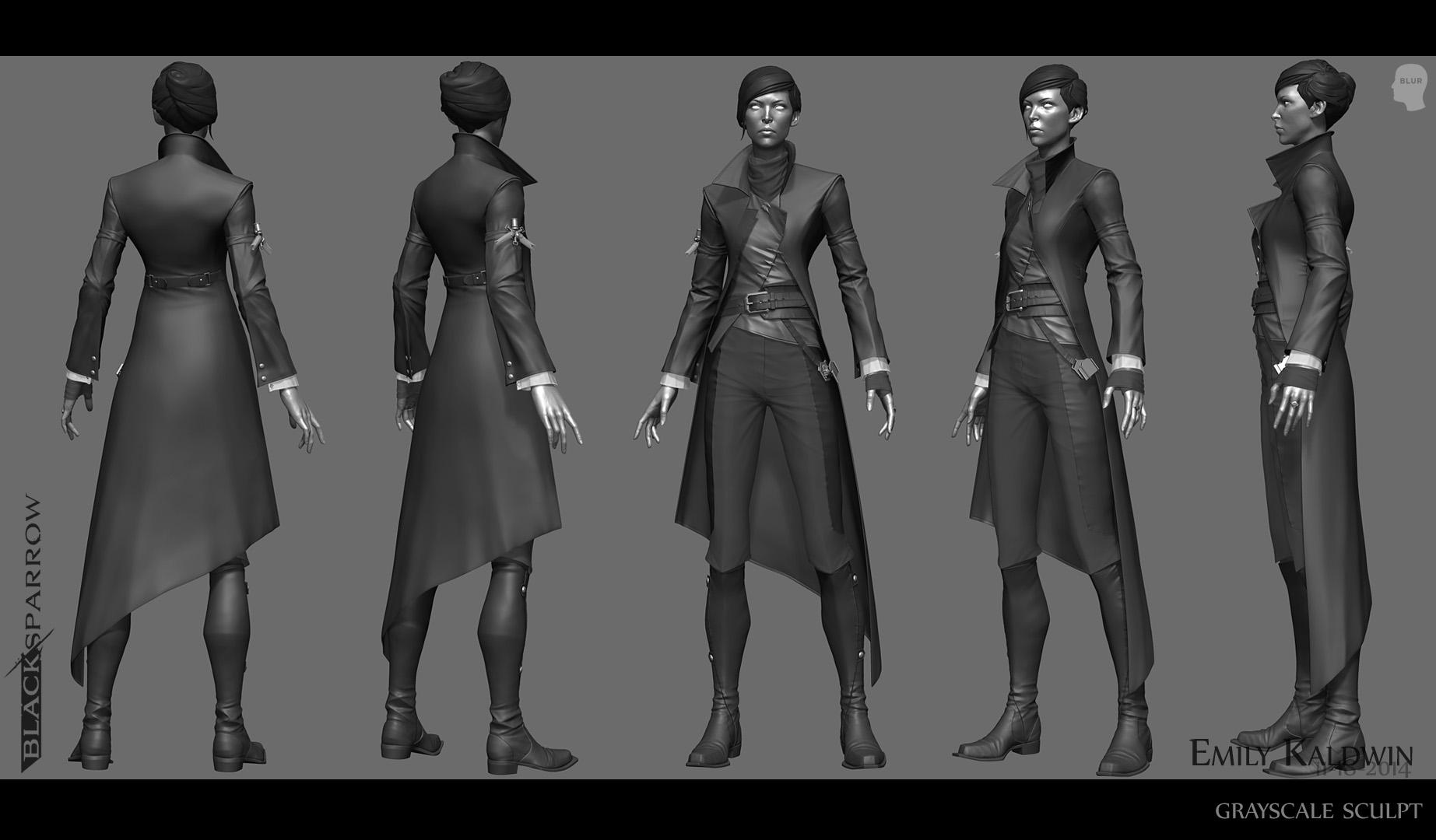 Dishonored II  James Ku  CG Character Artist