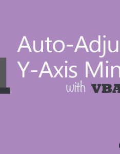 Automatically adjust chart  axis limits excel also use vba to your charts min and max rh thespreadsheetguru